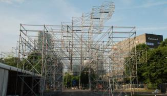 Park Hilaria opbouw laaste dag